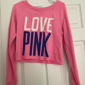 Victoria's Secret Cropped Sweatshirt